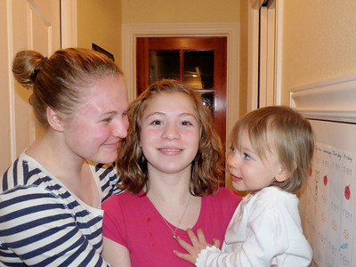 Lauren, Christiana, and Cambria