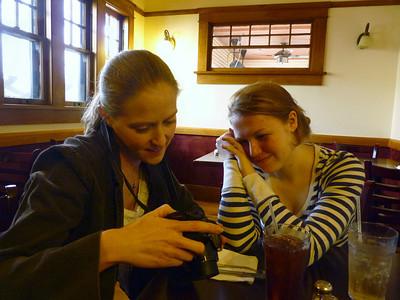 Ari and Lauren -- Village Grill, Davis
