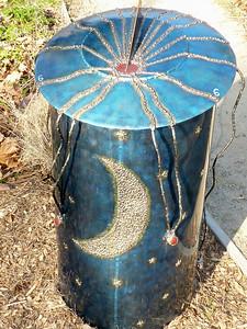 Sundial -- Davis outside art
