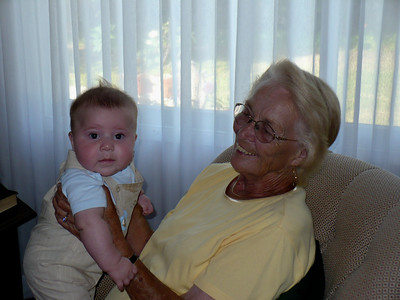 Joey and his Great Grandma