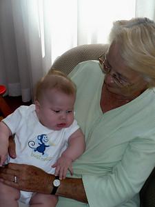 Joey and Great Grandma Pat