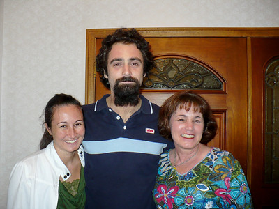 Christine, Alex, and Mary