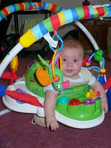 Joey in his new toy -- very cool!