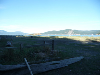 Spencer Spit, Lopez Island (sunset)