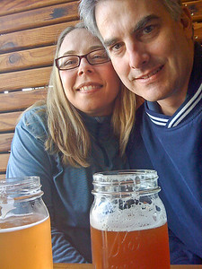 Beer and lunch at the Fort George Brewery