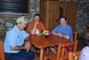 Kenneth Arthur, Doak Hartley and Chris Arthur at Concan Country Club breakfast 05/06/07