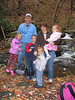 Our family at Anna Ruby Falls.