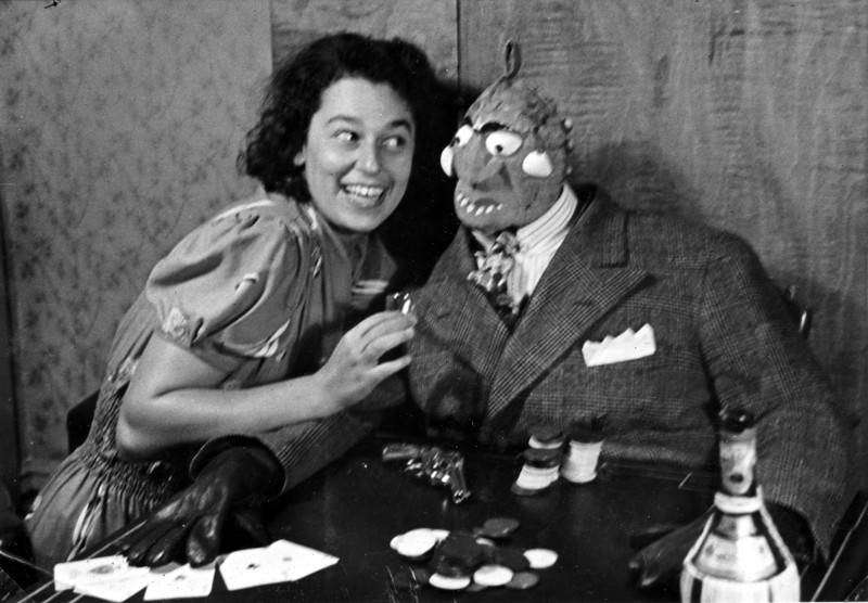 "Jeannette & ""Big-Time Gambler"" 1938"