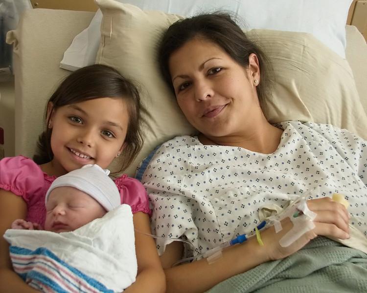 Mom, Laney and Kye