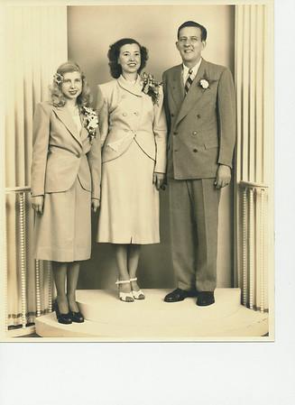 Donna Bagneris Wentzel Family Photo Album