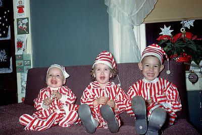 1957 Kim, Sharon Wentzel, & Allen Wentzel