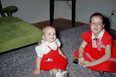 1957 Kim & Pam Hoberg