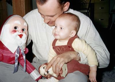 1957 Kim & Dad