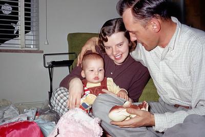 1957 Kim, Mom, & Dad