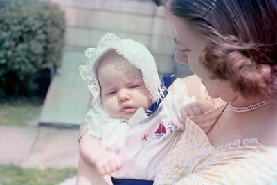 1957 Kim & Mom
