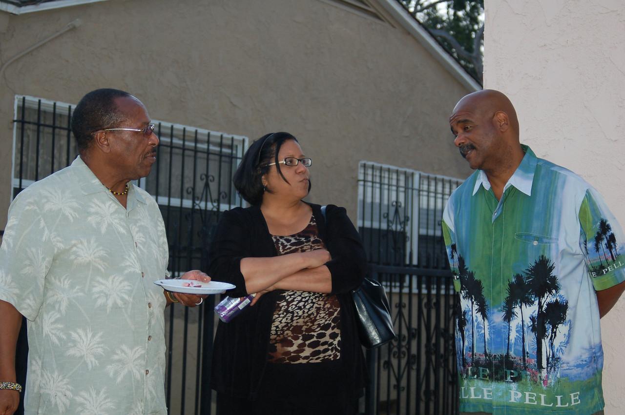 Kwaku, Stephana and Bob