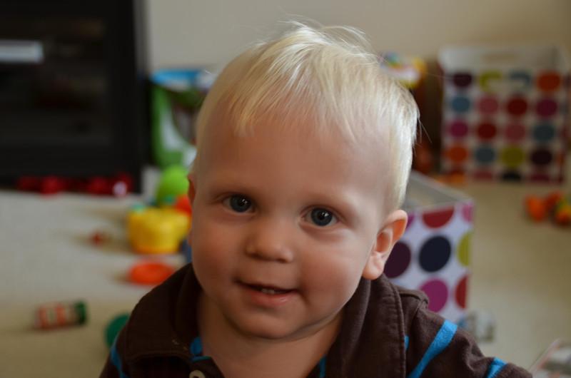 Lookin' good grandson.