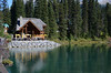 Emerald Lake lodge in British Columbia.  This was over Kicking Horse Pass and a solid 5k up/down hike around the lake.  Food was great and sitting outdoors in the mountains priceless.