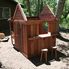 Jordyns new play house, just needs a roof :)