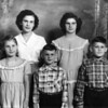 Greier Children - Back: Alice and Kate; front: Winnie, Bobby, and Jim.