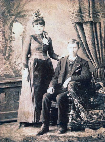 John and Catherine Wetzel,  née Dudenhöfer; parents of William F. Wetzel
