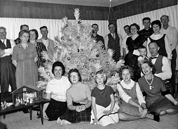 Christmas  ~1963 @ Davids
