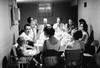 1961?  at Millie & Joe's<br /> Jeff, Bob, Joe, Leonard, Glen, Alverne, David, Nancy, Marilyn, Millie, Myrna