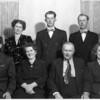 Strandemo Family<br /> Iona, Thelma, Alverne, Glen, Olive (Rear)<br /> Herbert, Selina, Albert, Millie (front)