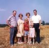 Ross family plus Herb Strandemo - 1964<br /> Joe, Millie, Nancy, Herb S - in back<br /> Cindy, Kristen S - in front