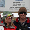 Vivian and Billy Sheffield at Brighton Resort, where Viv is working as a Ski Patroller and Billy maintans lift equipment.<br /> 11/27/09