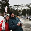 Vivian and Duncan at Brighton Resort, where Viv is working as a Ski Patroller.<br /> 11/27/09