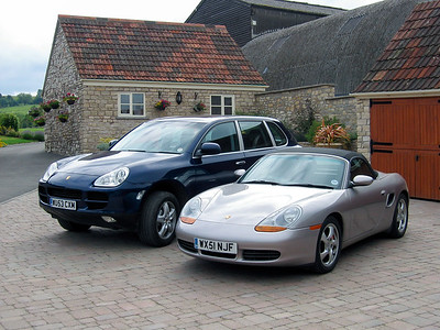 The first Porsche Pair, May 2004
