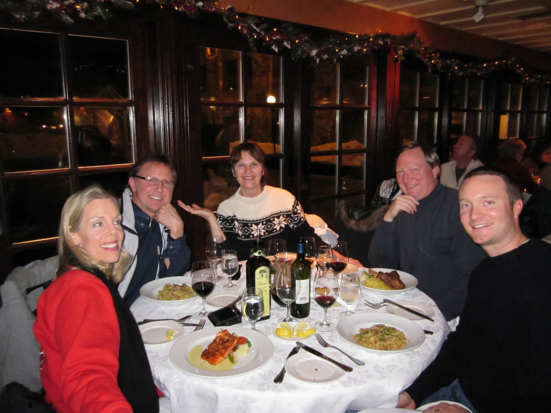 Dinner at Italian restaurant:  Umberto's Whistler