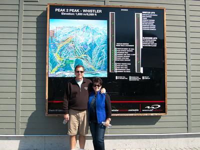 Getting ready for Peak 2 Peak Gondola (Whistler to Blackcomb)