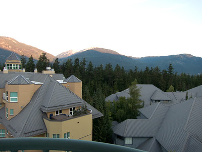 View from room @ Fairmont