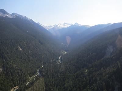 Fitzsimmons Creek from Peak 2 Peak Gondola