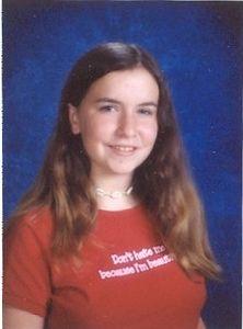 Amanda Fuelling, 2003 school picture.