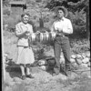 Addie M. Bergschneider (Davis) and Joseph John Bergschneider (1945)