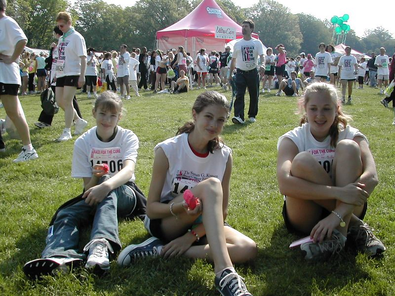 Walk for the Cure. Mother's Day '04
