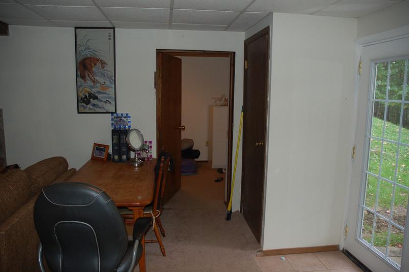 Basement 'safe room'