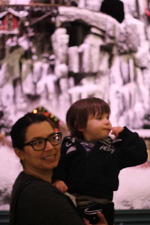 Lola & Mateo en el mall Navidad 2012