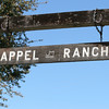A closer look at the Appel Ranch sign.