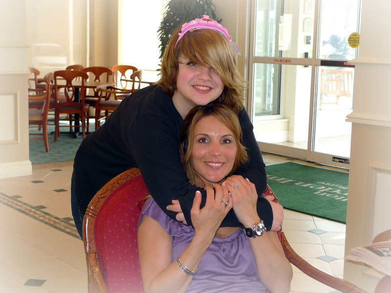 Haley and Aunt Mindy.