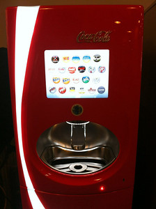 Facebook drink machine for when you are thirsty!