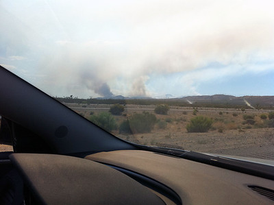 We weren`t sure what this was - suspected it might have been a huge fire on the other side of that mountain