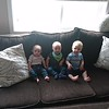 Willa, Harley and Lucas on the couch