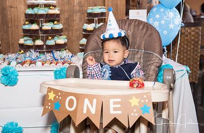 William 1st Birthday