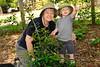 2010 Carol teaching Will about gardening