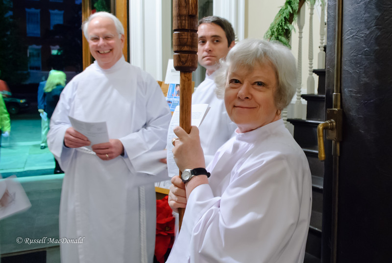 2011 Carol loved to serve as Crucifer