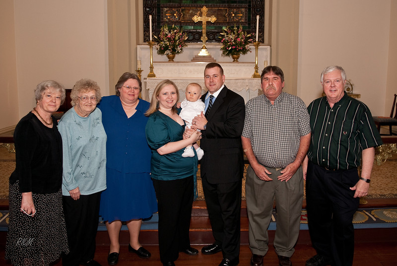 2009 Will's Baptism